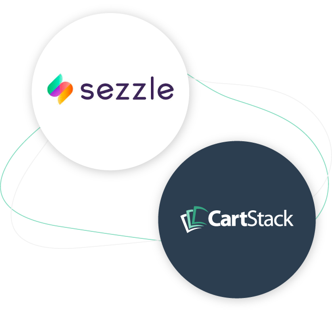 recover abandoned carts with sezzle plus cartStack image