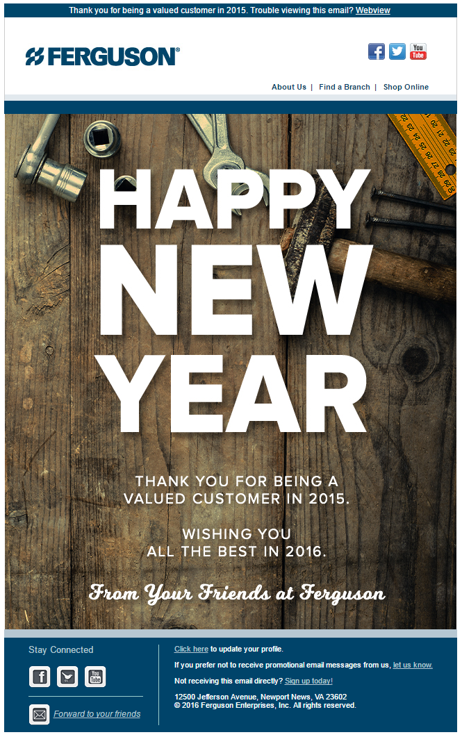 Happy New Year Email 96