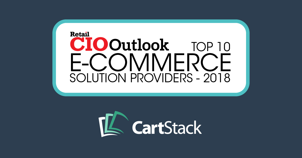 "CartStack Named ""Top 10 Ecommerce Solutions of 2018"""