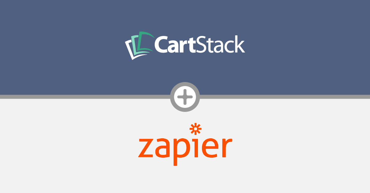[New Feature] CartStack + Zapier Integration Now Available